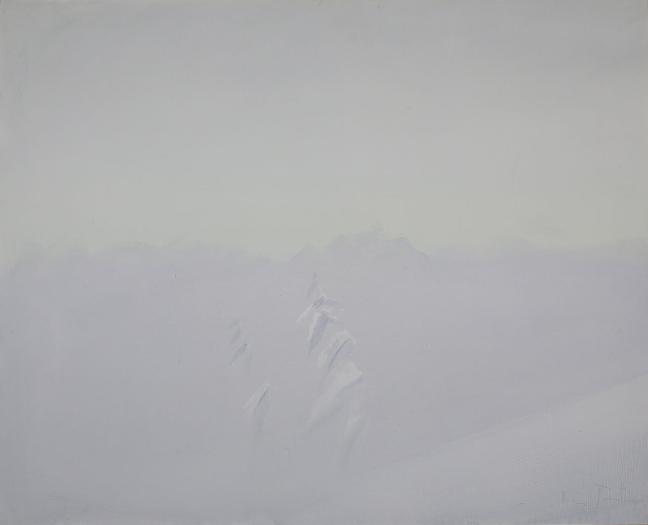 Vinter - Snevær