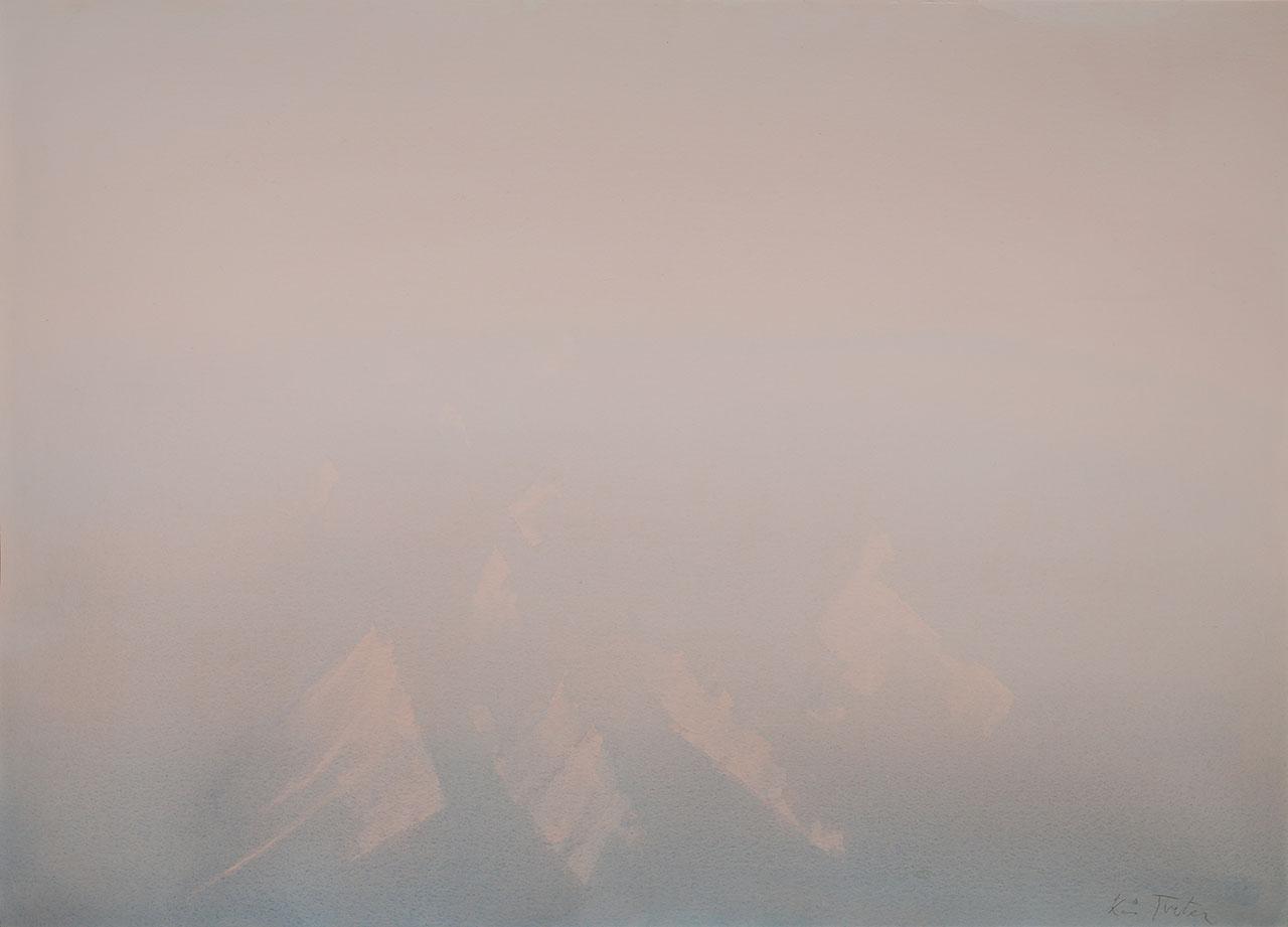 Lys over breene - Svalbard