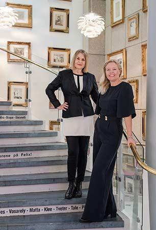 Annette B. Lynne og Anne Marit Muri
